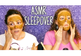 ASMR Sleepover Best Friend Roleplay