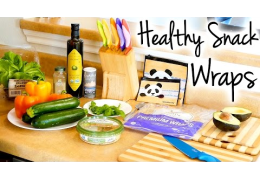 Healthy Snack Wraps Recipe